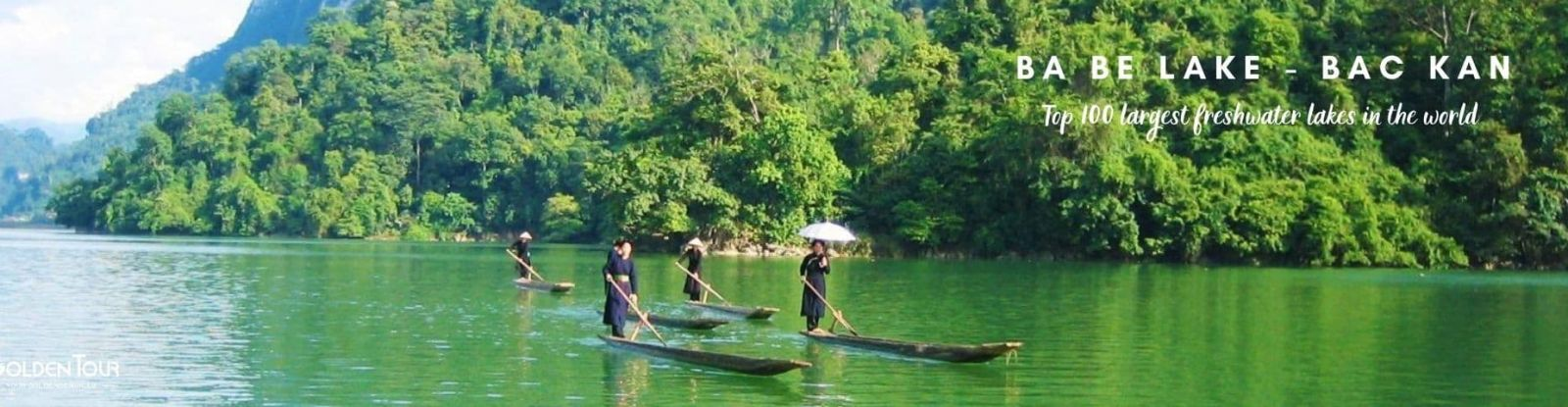 Destinations in Bac Kan - Ba Be Lake