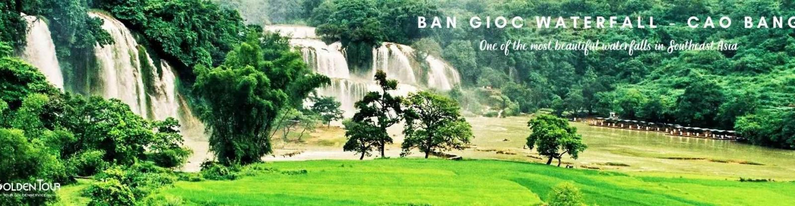 Destinations in Cao Bang - Ban Gioc Waterfall