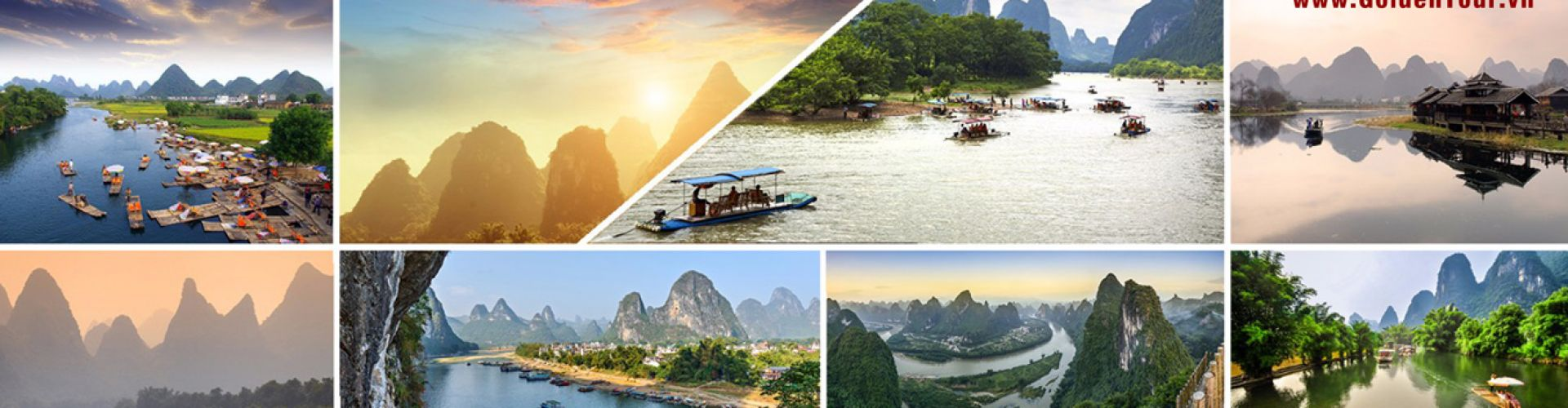 Destinations in Guilin