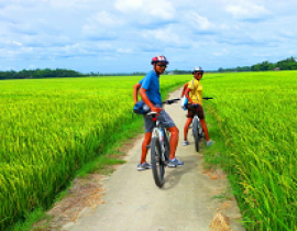 Bike tour to countryside