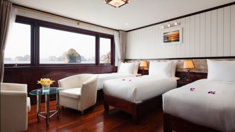 Deluxe Triple Sea view - 3 beds