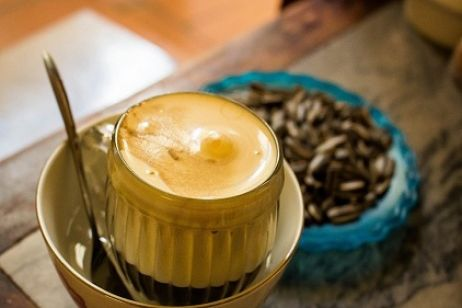 Sip on Egg Coffee at Café Giang