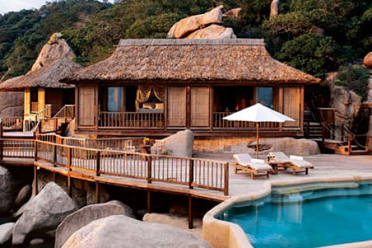 American magazine named Six Senses Ninh Van Bay among the World 30 best resorts