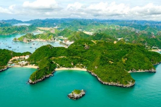 Cat Ba Island ranks first among top searches of Google 2020 for tourist destinations in Vietnam