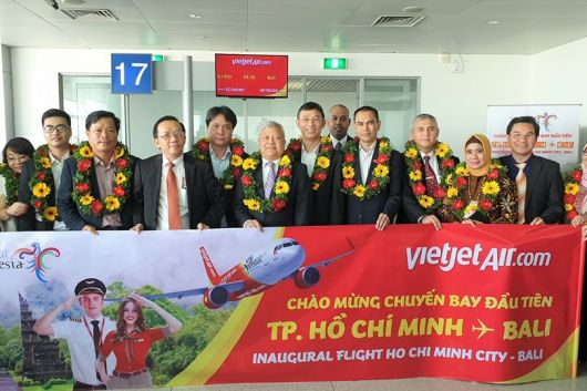 Launched direct flight between Vietnam - Bali ( Indonesia)
