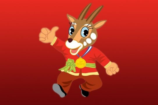 Asian unicorn - Saola selected as official mascot of SEA Games 31