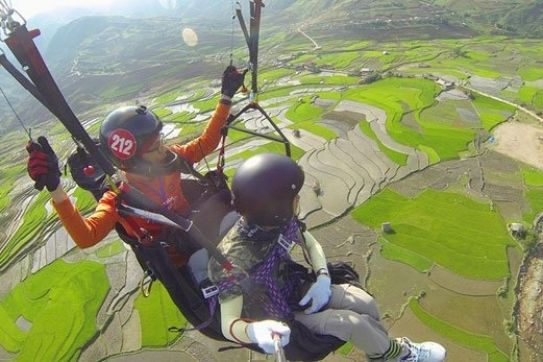 Paragliding festival offers stunning aerial views of Mu Cang Chai terraces