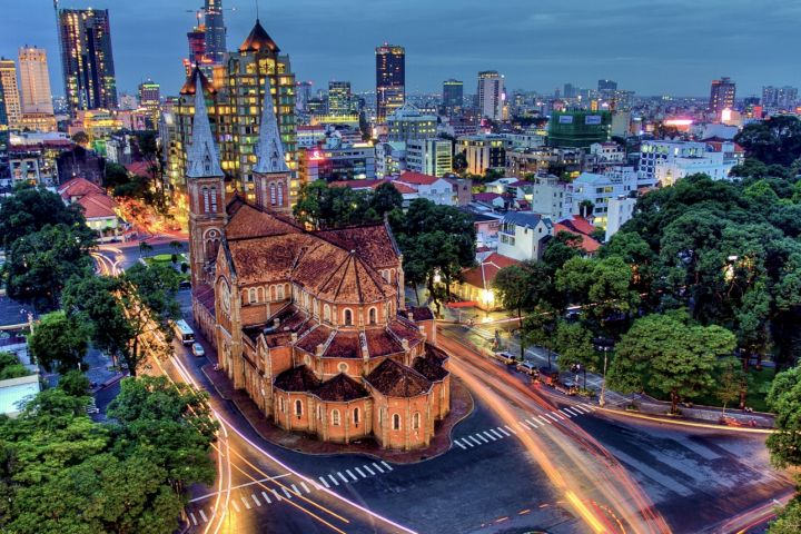 Ho Chi Minh City, Cu Chi, My Tho,Mekong Delta,Hanoi,Halong Bay 07 days/ 06 nights