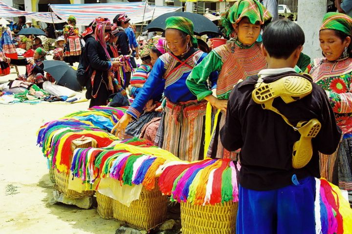 Hanoi, Sapa, Ta Phin, Bac Ha tribal market, Halong Bay 8 days/ 7 nights