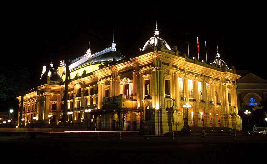 Hanoi Opera House Evening