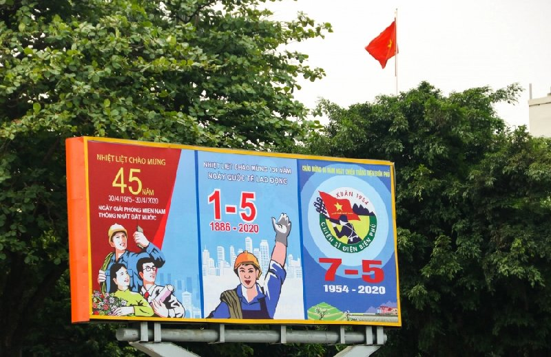 Flags Hanoi