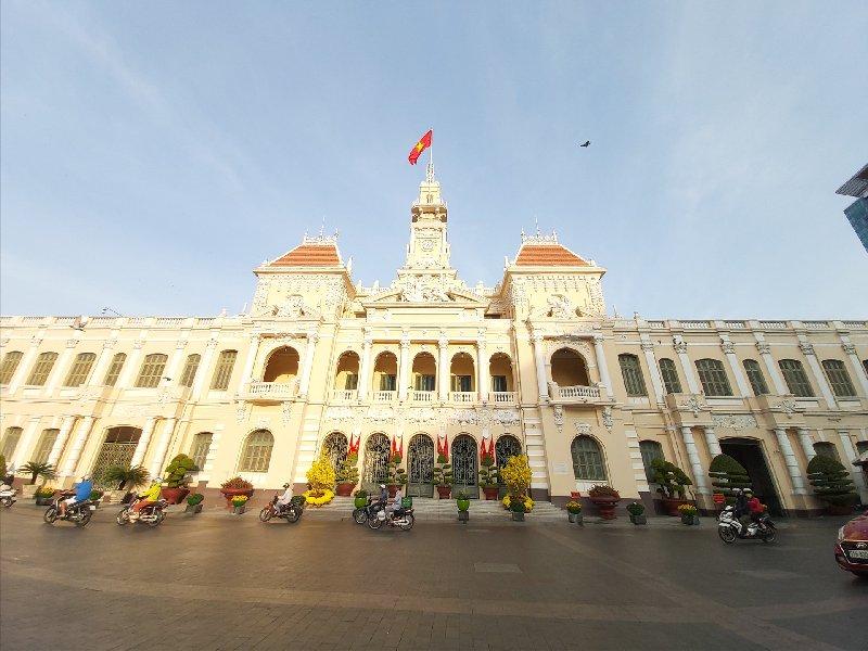 Ho Chi Minh City Hall or Saigon City
