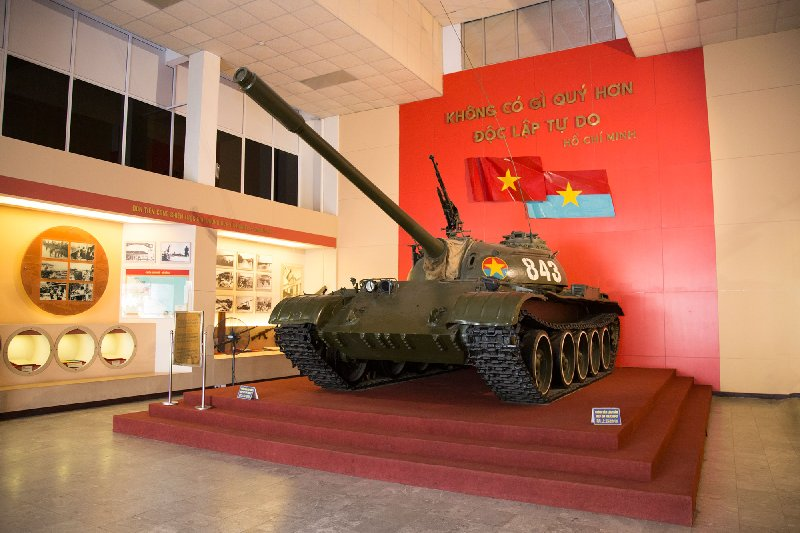 Tank 843 - Vietnam War
